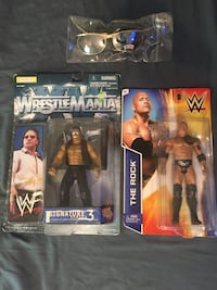 The Rock Action Figures and Original 1999 Gold SunGlasses Roselle, 07203