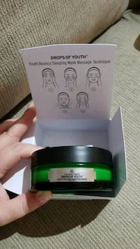 Body Shop drops of youth mask. Kelowna, V1Y 3P9