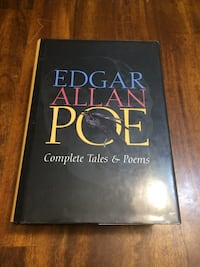 Edgar Allan Poe Complete Tales & Poems hardcover book North Vancouver, V7P 1E4