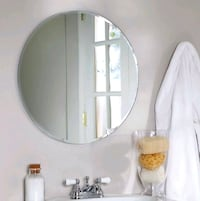 Round mirror from Ikea  Vancouver, V5T 1Y3