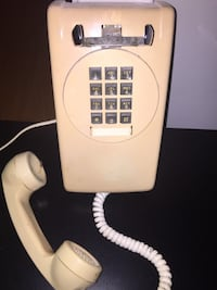 Old Push Button Telephone