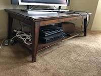 rectangular brown wooden coffee table San Francisco, 94122
