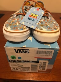 NEW AUTHENTIC VANS TOY STORY SHOES YOUTH