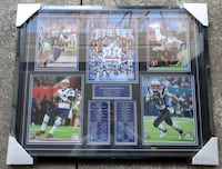 New England Patriots superbowl plaque  Toronto, M8Z 6C7
