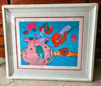 Peter Max lithograph Marilyn's Flowers Pinellas Park, 33782