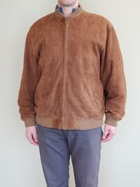 MEN's SUEDE LEATHER JACKET - firm price.