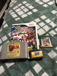 Games for sale   Super smash bros sold all others up for grabs Mississauga, L5N 2G7