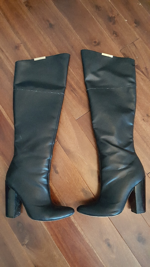85a02eedc16 Used calvin klein over the knee boots size 6 for sale in Calgary - letgo