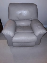 Leather chair & couch
