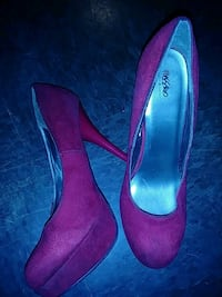 Red Mossimo heels