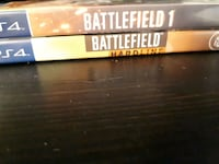 Battlefield 1 & Hardline PS4 Chilliwack, V2R 5X4