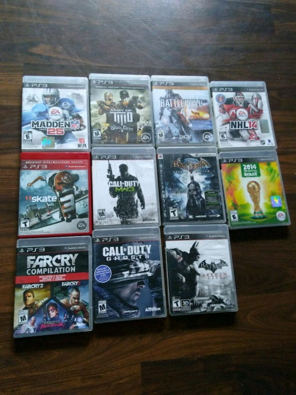 Used PS3 games $5 each