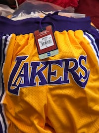 Lakers shorts  La Mesa, 91942