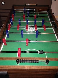 green, brown, and red foosball table Reno, 89509