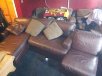 Sectional leather coach Capitol Heights, 20743