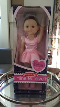 baby's pink and white doll Silverado, 92676