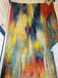 multi color rug 5 by 8 new  Monmouth County, 07712