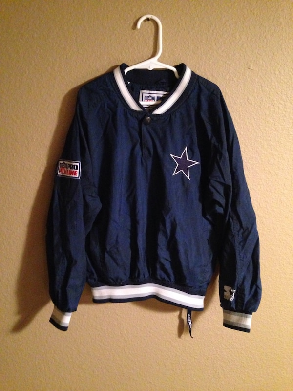 finest selection 399f8 b481c Dallas Cowboys boys small vintage starter pro line pull over jacket