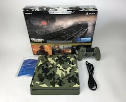 PS4 PlayStation Slim Limited Edition: Call of Duty WW2 Bundle *RARE*