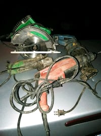 I'm selling power hand tools grinders skill saws Charlotte, 28216