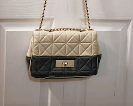 Kate Spade Quilted Purse Handbag Gold Chain Strap