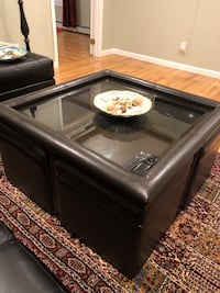 Coffee table with ottoman Bobs furniture