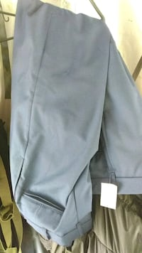 New! Blue Pants 32 R and 31 R Military pants.