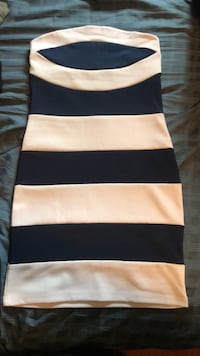 Striped mini dress for $20.00 Mississauga, L5R 2H8