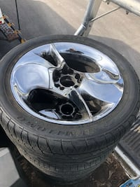 """17"""" Car wheel with tire"""