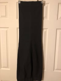 Tahari Women's Size 14W Black Flat Front Dress Pants, Inseam 30""