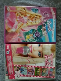 2 barbie DVD Moss, 1518