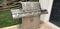 Stainless steel outdoor gas grill 32 km