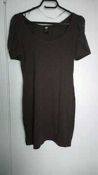 women's black scoop-neck dress Toronto, M2N 1S2