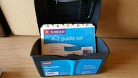 Smead 4x6 index card box with A-Z guide & cards Winchester, 22601