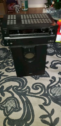 Onyko Home Theater System Subwoofer and Speakers
