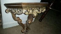 Beautiful ornate heavy gilded wall shelf. Orlando, 32808
