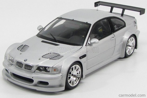 "1:18 Scale 2001 BMW M3 GTR - ""Street Version"" - New In Box - SUPER RARE !"