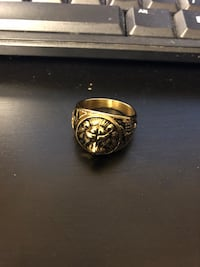 Lion  king Mufasa heritage gold ring North Vancouver, V7N 3S6
