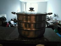 stainless steel cooking pot with lid Waterloo, N2L