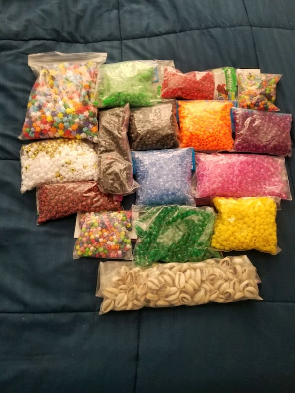 Beads for hair and Arts and Crafts  38455717-20f6-4c01-890c-b5fc0335b346