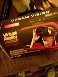 red and black Dream Vision VR goggle box