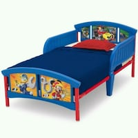 Disney Mickey Mouse Plastic Toddler Bed Houston, 77042