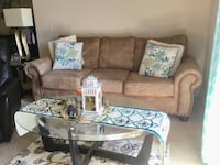 3 Seater Sofa with FREE glass coffee table and 2 end table Virginia Beach, 23455