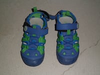 BANFF TRAIL TODDLER BOYS CLOSED TOE SANDAL BLUE SIZE 9 Richmond Hill