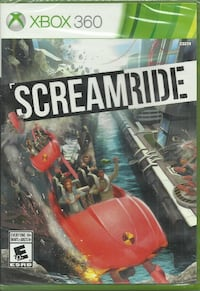 NEW - Screamride (Xbox 360) VideoGame Brand New - sealed Pick-up in Newmarket Newmarket