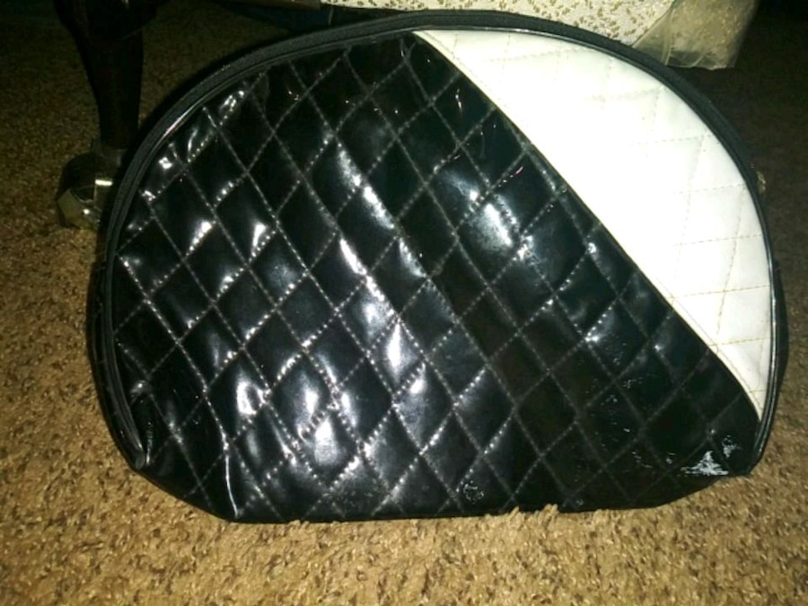 Photo Black and White Change Purse