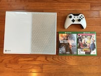 White Xbox One 500GB Console with Controller Fairfax, 22033