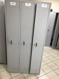 Lockers(3 lockers in one) Single Tiered TORONTO