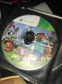 Minecraft Video Game XBox 360 Downers Grove, 60516