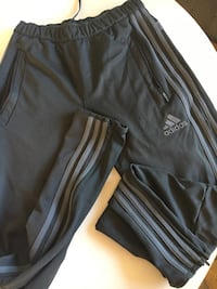 Grey adidas pants zipper bottom  Surrey, V4A 5M7